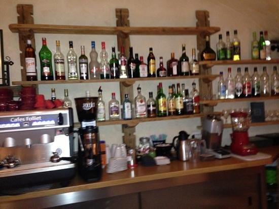 Hotel Les Grands Montets: refreshment area
