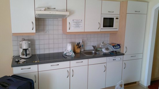 Apart Pension Bergland: Kitchen area