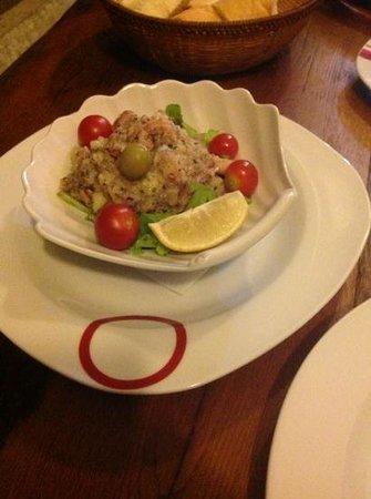 Restoran Galeb: insala di polipo ... agglomerato all aceto