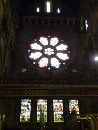 St Fin Barre's Cathedral: Rosette