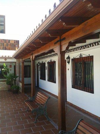 Las Rampas: Vue sur les chambres