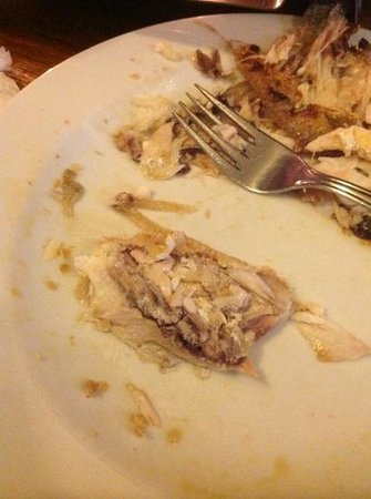 Restoran Galeb: pesce con iteriora
