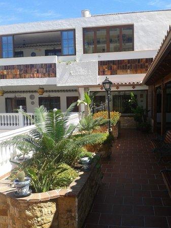 Las Rampas: Vue sur les chambres niveau reception