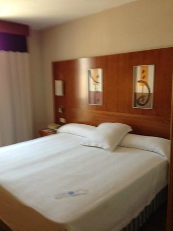 NH Málaga: Habitación limpia y amplia.