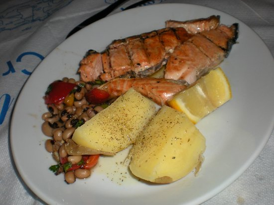 Gioma Taverna: salmone alla griglia
