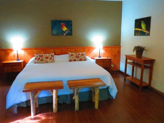 Tierra Guarani Lodge: lit dans la chambre