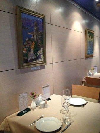 The Brasserie Restaurant: The  Brasserie non smoking area