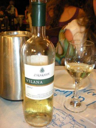 Gioma Taverna: vino cretese