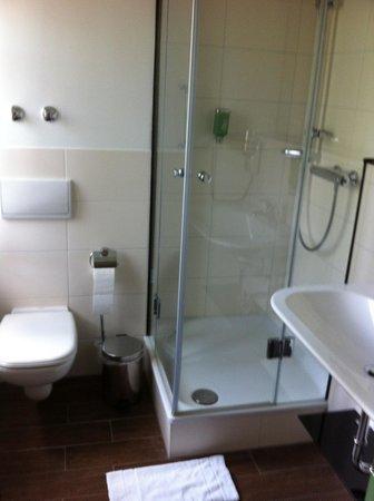 Landhotel Martinshof: Bad mit Fenster