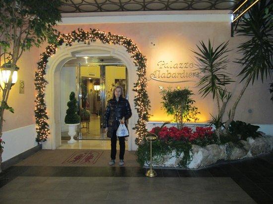 Hotel Palazzo Alabardieri: ingresso