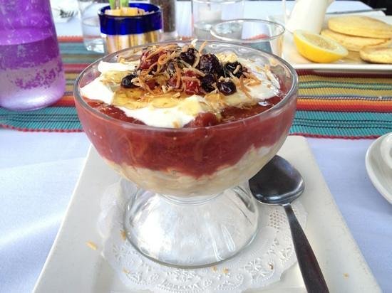 Blue Moon Grill : BREAKFAST TRIFLE