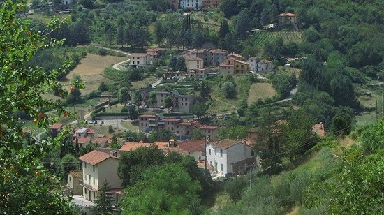 Agriturismo Corboli: Breathtaking view...