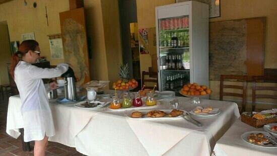 Agriturismo Ca Balbi: la colazione a buffet