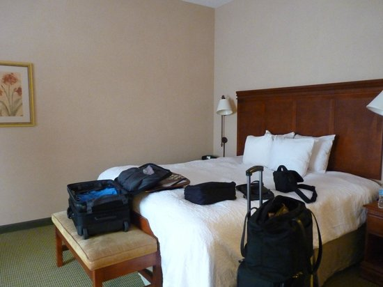 Hampton Inn & Suites Pittsburgh - Downtown: Bed