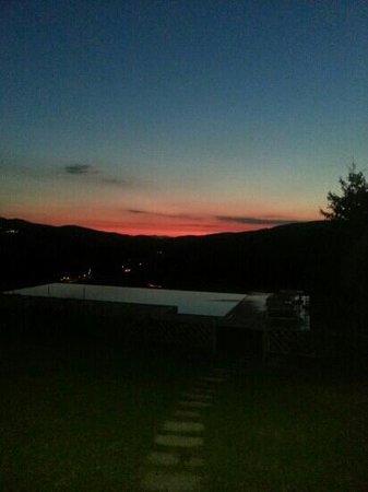 Agriturismo Ca' Lucano: tramonto dalla camera
