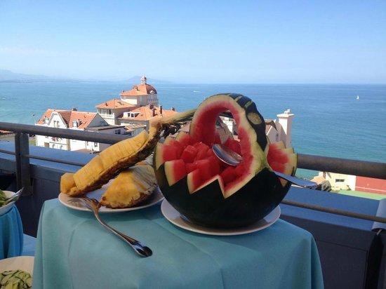 Radisson Blu Hotel: la vue de la terrasse !