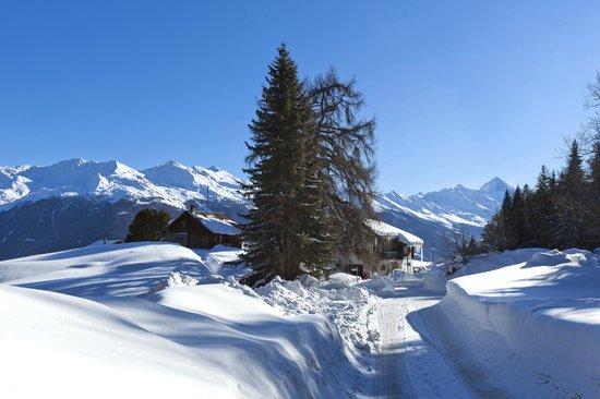 Les Collons, Switzerland: A l'entrée des Collons