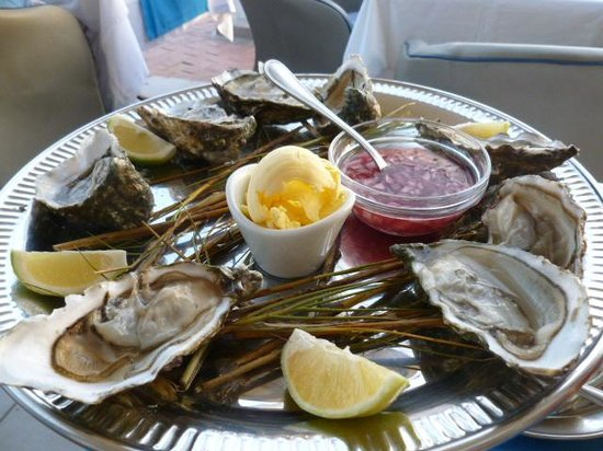 Le Flore : Oysters