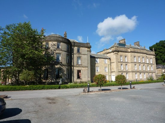 Best Western Beamish Hall Country House Hotel: Side view of hotel