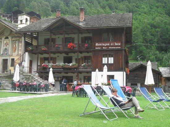 Hotel Montagna di Luce: Momento di relax