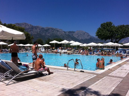 Club Med Kemer: la magnifique piscine