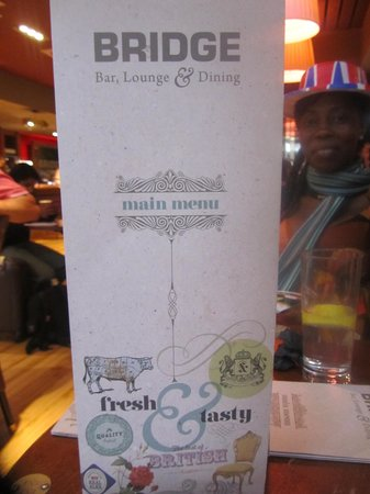Bridge Bar and Eating House : Bridge Bar & Restaurant LHR T4 Menu