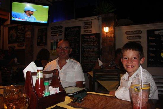The Islander: 20h30 a table