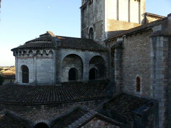 La Tour du Tresorier: abside della chiesa di St Philibert
