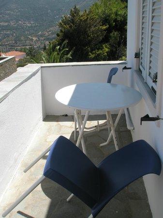 Aiolos Hotel: Balcony