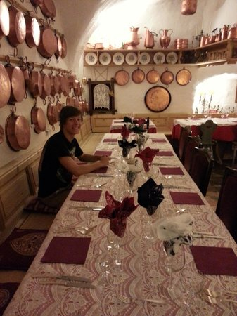 Villa Bertagnolli: Indoor dining