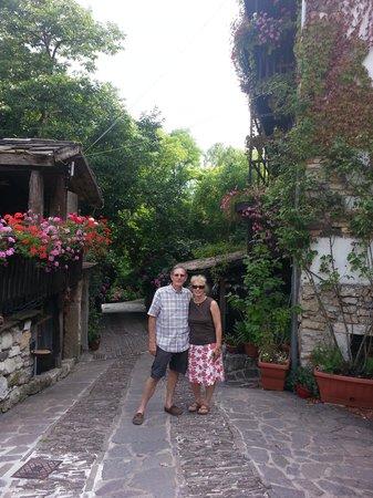 Villa Bertagnolli: Entrance drive