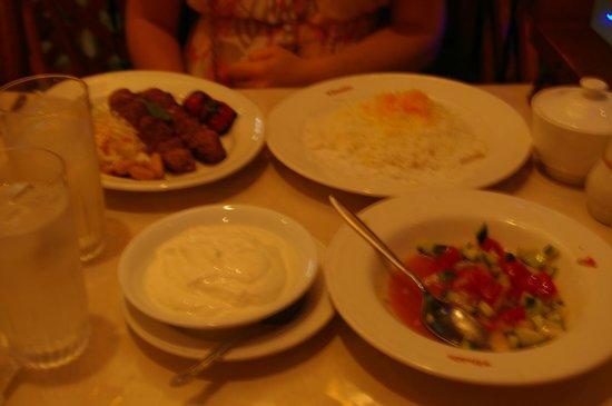 Iran・Arab Restaurant Aladdin: Ensemble de nos plats