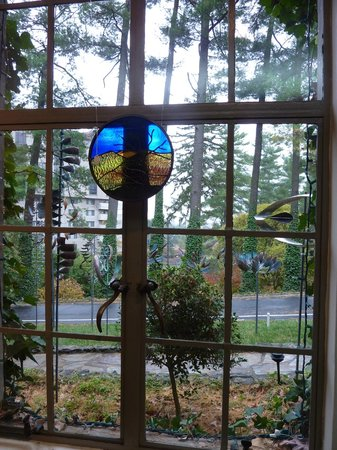 Grovewood Village: A view from inside The Grovewood Gallery