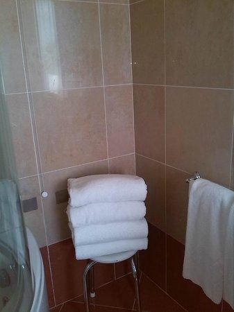 Galileo Palace Hotel: Particolare del bagno