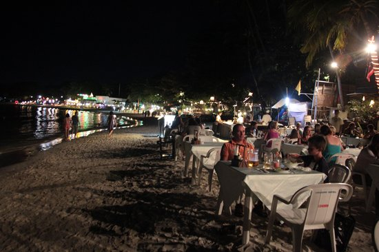 Chaweng Seafood Restaurant: diner