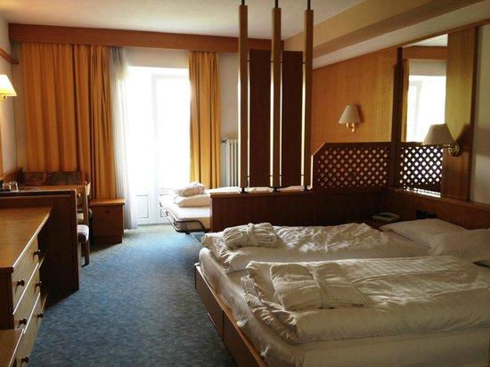 Wellness Hotel Savoy : la stanza in cui abbiamo alloggiato
