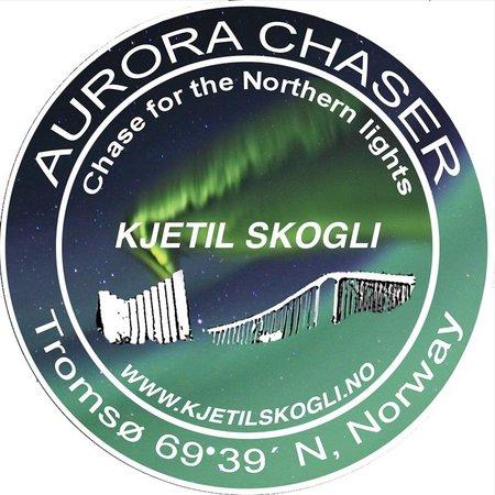 The AuroraChaser Kjetil Skogli: The badge of The Aurora Chaser
