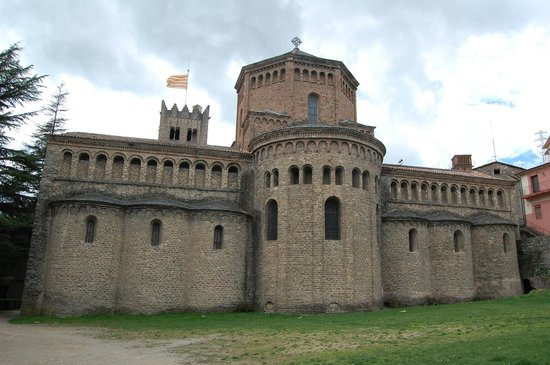 Monestir de Santa Maria de Ripoll: Parte posterior