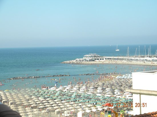 Park Hotel Cattolica: View from the room