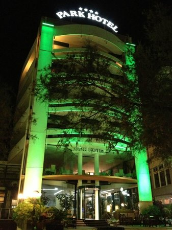 Park Hotel Cattolica: In front of the hotel