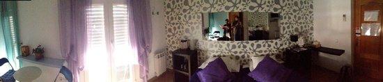 Flat5Madrid: Panoramica della stanza