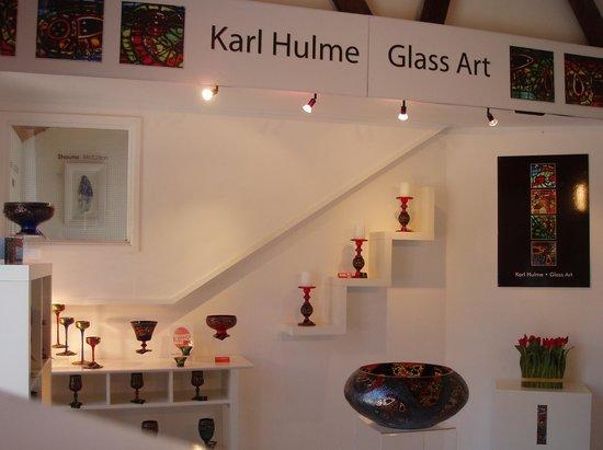 An Clachan art and craft gallery: glass studio