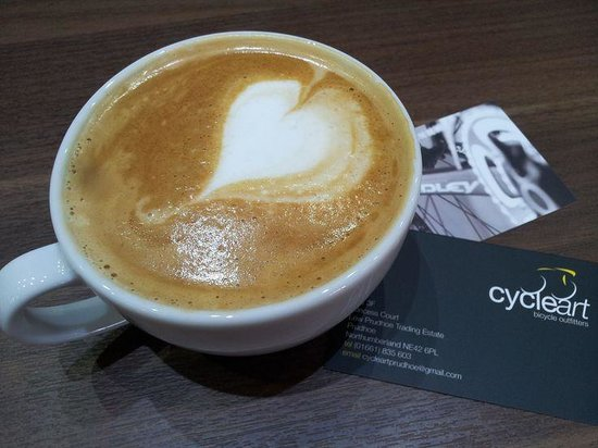 Cycle Art: We love Caffe Praego coffee. You will too.