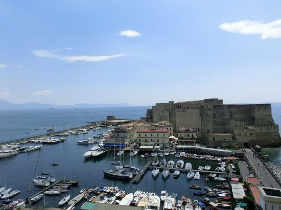 Grand Hotel Vesuvio: View from the room