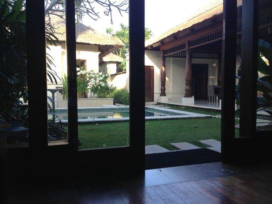 Pat-Mase, Villas at Jimbaran: Vue de notre chambre