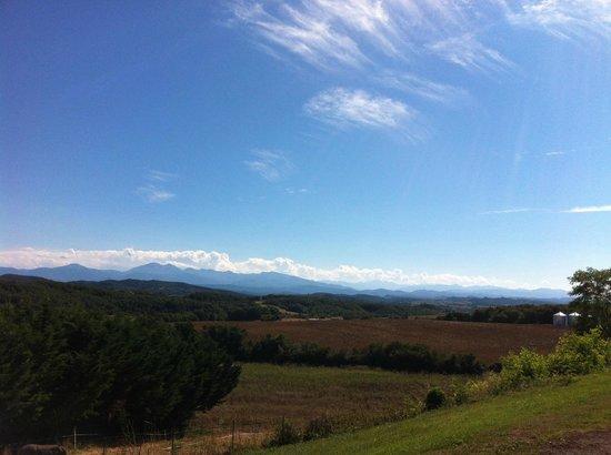 Auberge du Balestie: Magnifique vue