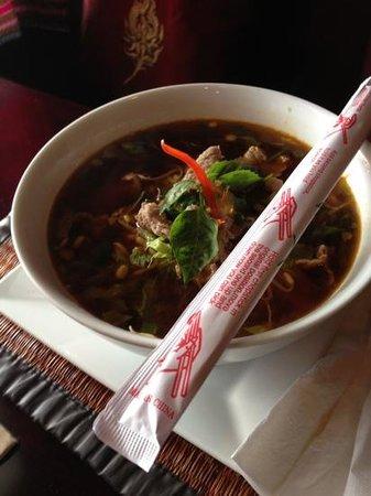 Tuptim Thai: Beef noodle soup at tuptimthai