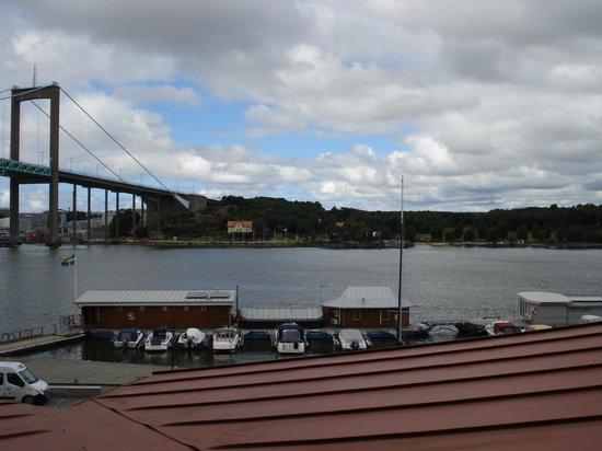 Best Western Plus Hotel Waterfront Goteborg: Blick vom Hotelzimmer Richtung Älvsborgsbrücke