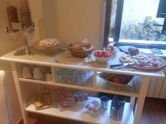 Bed & Breakfast Quattro Cantoni: breakfast