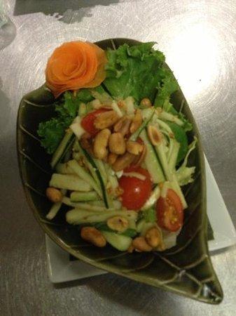Tuptim Thai: cucumber salad